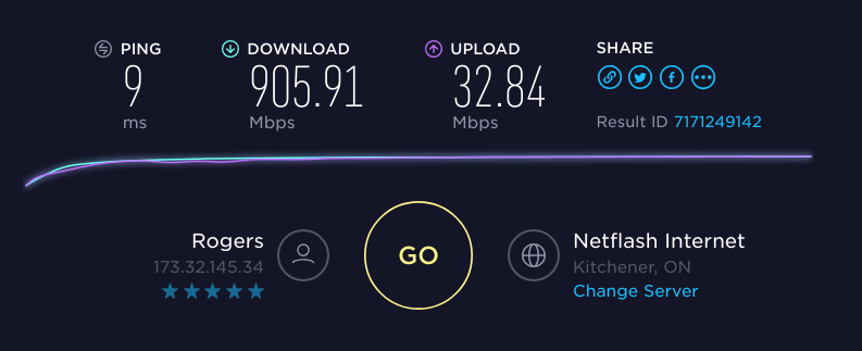 Speedtest & BBR, consistency