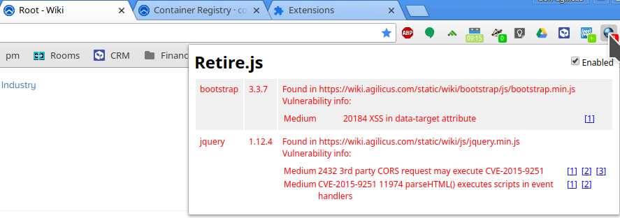 Suffering sisyphean security solutions: make your chrome part of the solution