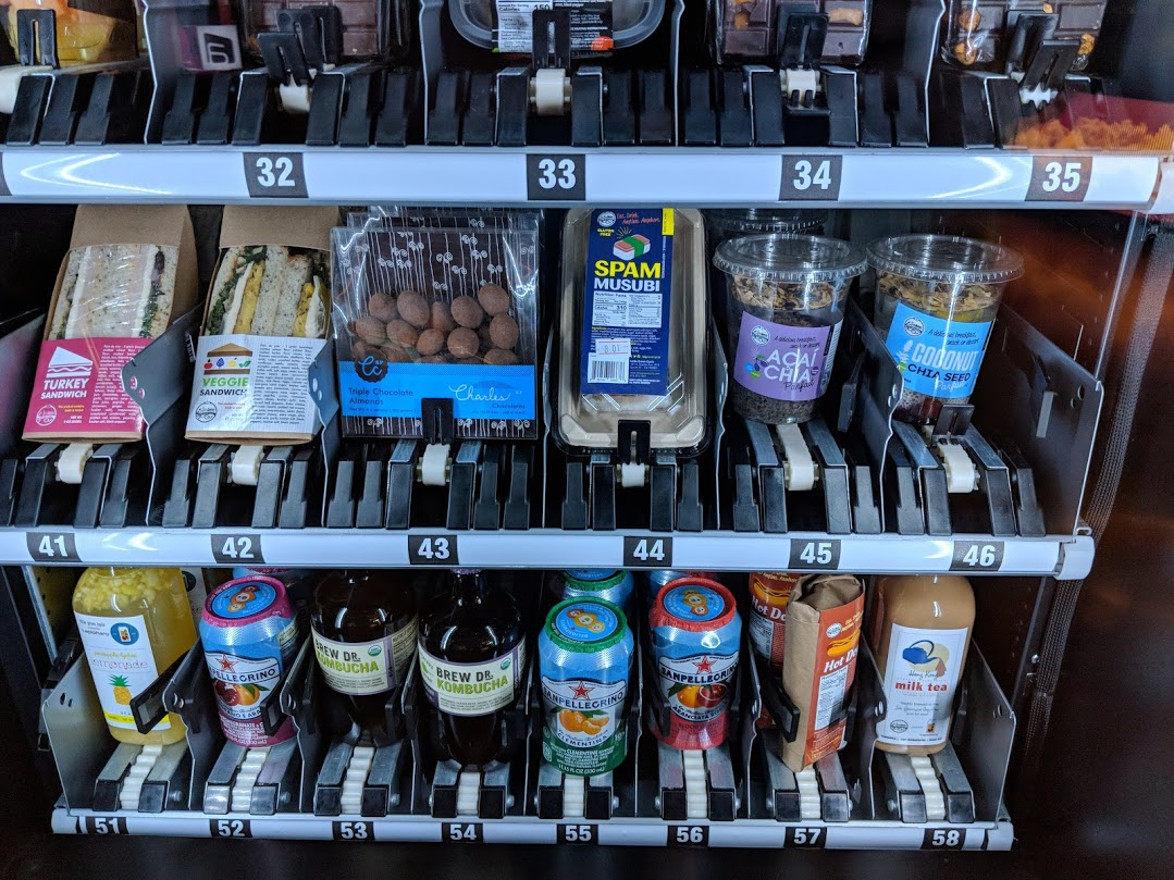 Spam sushi in a vending machine? People feeding trash pandas at underpasses? Must be in California!