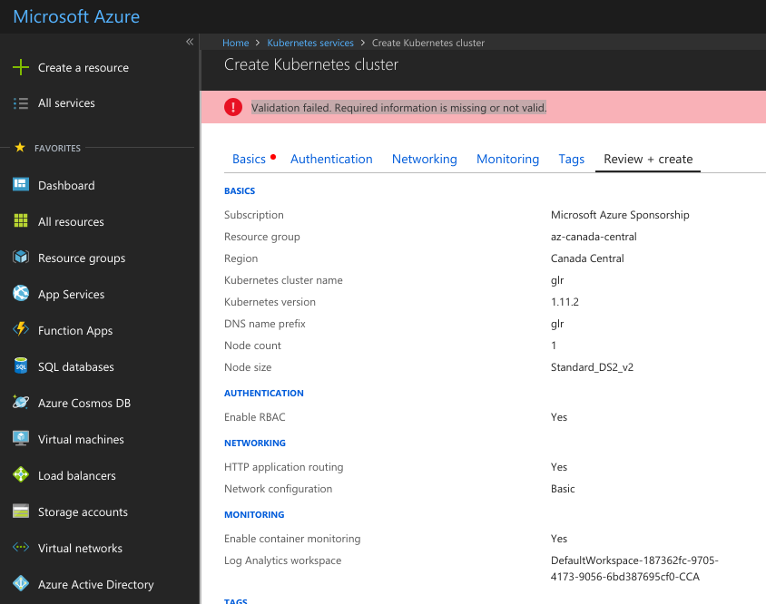 Azure Kubernetes Service (AKS): batteries not included – Don's Blog