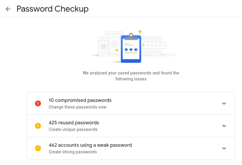 Use chrome? Use passwords? Take 2 minutes and check their value