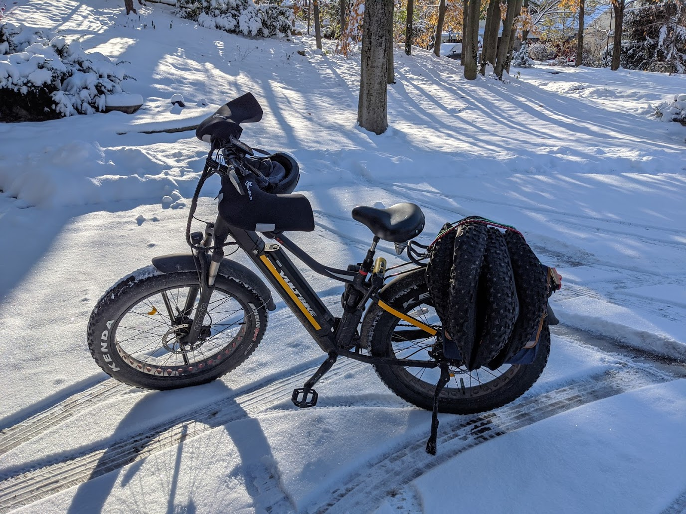 Tis the season to install your winter bike tires