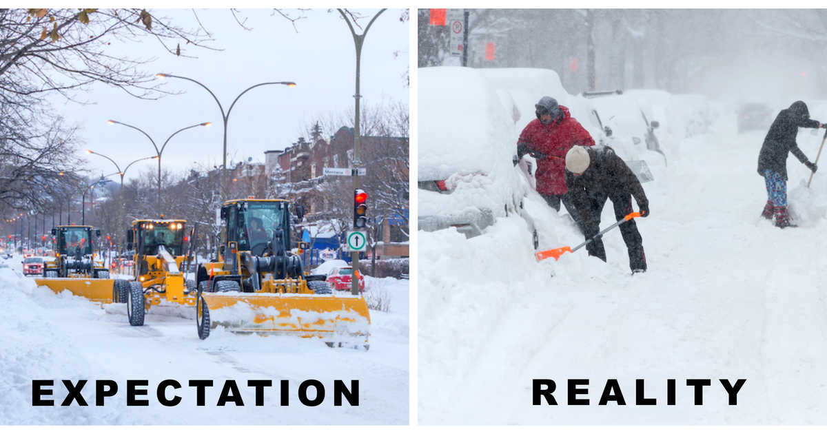 City Operations: Snow removal