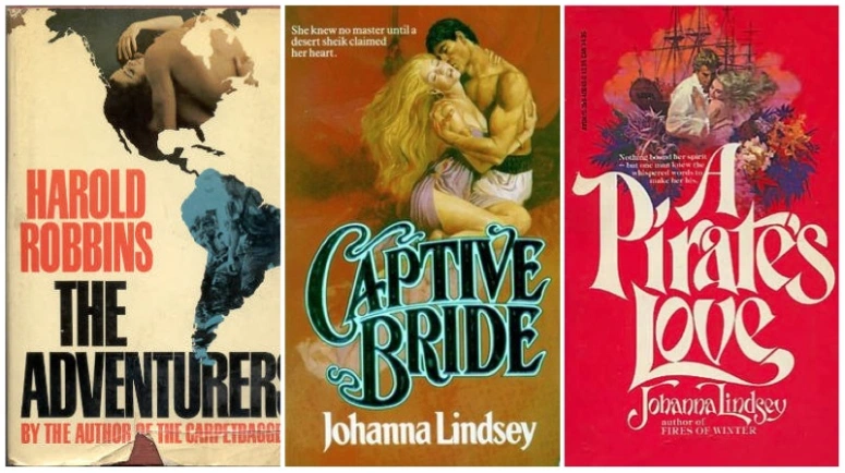 Of Audio Books and Public Paths: Bodice Ripper Edition