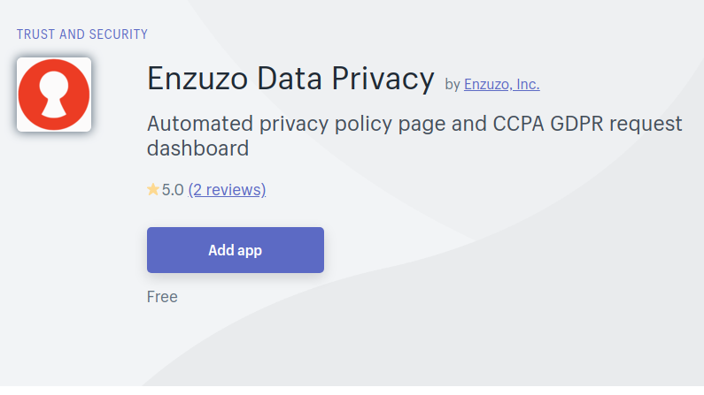 Got Shopify? Need CCPA or GDPR Compliance?